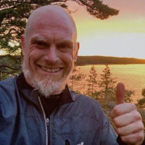 Martin Sundberg blev klar med kursen i augusti 2020
